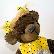 Куклы и игрушки handmade. Livemaster - original item Honey bear polka dot. Handmade.