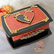 Для дома и интерьера handmade. Livemaster - original item Jewelry box Recognition. Handmade.