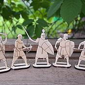 Материалы для творчества handmade. Livemaster - original item Figures for painting: knights of the. Handmade.
