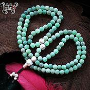 Фен-шуй и эзотерика handmade. Livemaster - original item Agate Buddhist prayer beads, 108 grains (unit Mahakala). Handmade.