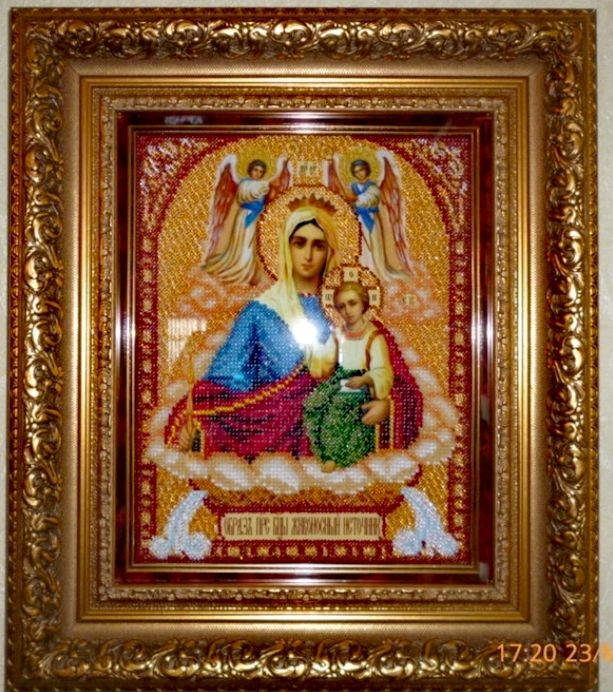 The icon of the virgin 'life-giving spring', Icons, Saransk,  Фото №1