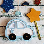 Для дома и интерьера ручной работы. Ярмарка Мастеров - ручная работа Детский светильник Машинка. Handmade.