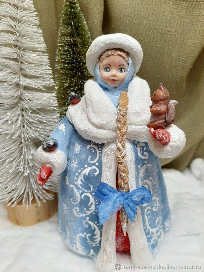 Ватная игрушка на елку , Снегурочка, Елочные игрушки, Томск,  Фото №1