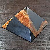 Для дома и интерьера ручной работы. Ярмарка Мастеров - ручная работа Пирамида из симбирцита. Handmade.