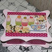 """Для дома и интерьера ручной работы. Ярмарка Мастеров - ручная работа """"Десерт"""" коробка для конфет. Handmade."""