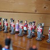 Сувениры и подарки handmade. Livemaster - original item Chess soldiers. Handmade.