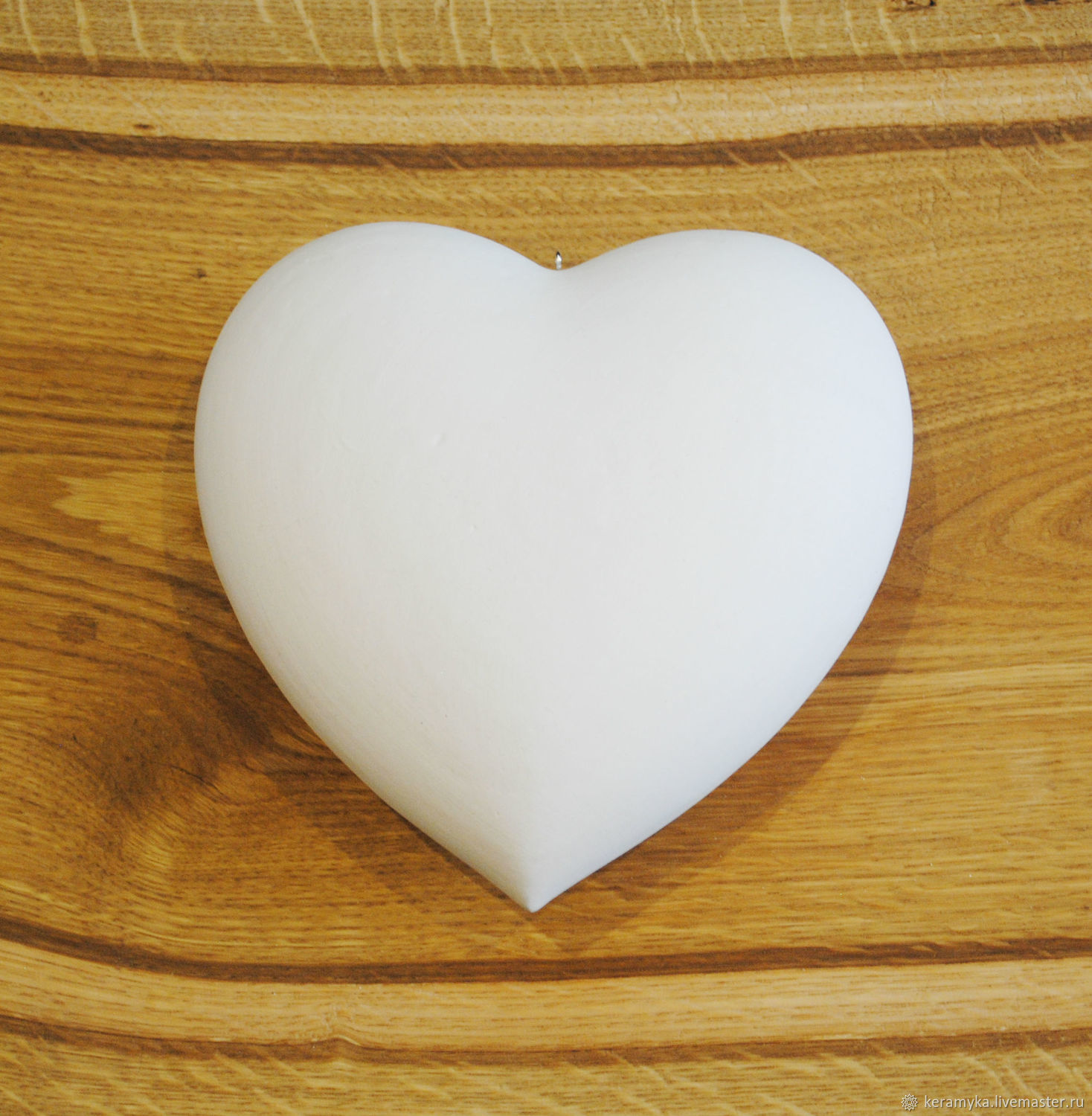 Blank for decoupage and painting 'Heart h - 12 cm', Blanks for decoupage and painting, Shigony,  Фото №1