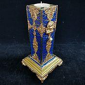 Для дома и интерьера handmade. Livemaster - original item Candlestick, Gallant century, wooden candle holder. Handmade.