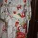 """Платья ручной работы. Заказать Платье """"Маленькое платье с маками"""". Ирина. Ярмарка Мастеров. Платья на море, крестьянка, яркое платье"""