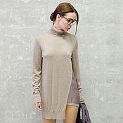 Одежда ручной работы. Ярмарка Мастеров - ручная работа Платье-туника женская Silky. Handmade.