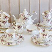 "Royal Albert, 1960-70г. Кофейный сервиз ""Cottage Garden"", Англия"