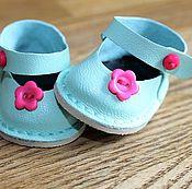 Обувь ручной работы. Ярмарка Мастеров - ручная работа Туфельки для куклы. Handmade.