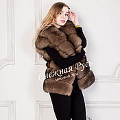 Одежда handmade. Livemaster - original item vest made of Fox fur. Handmade.
