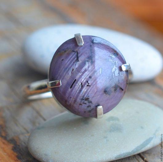 Кольца ручной работы. Ярмарка Мастеров - ручная работа. Купить Кольцо со звездчатым рубином, серебро. Handmade. Драгоценные камни