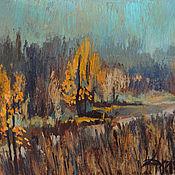 Картины и панно ручной работы. Ярмарка Мастеров - ручная работа Осенняя дорога. Handmade.