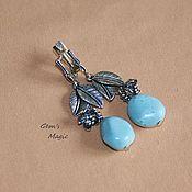 Украшения handmade. Livemaster - original item Earrings turquoise