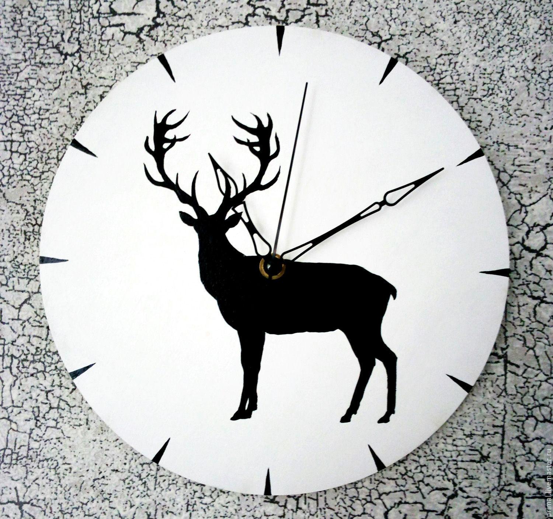 """Часы """"Благородный олень"""", , Хабаровск, Фото №1"""