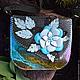 """Женские сумки ручной работы. Ярмарка Мастеров - ручная работа. Купить Сумка """"Морской цветок. Handmade. Разноцветный, морская тема"""
