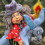 """Подарки к праздникам ручной работы. Ярмарка Мастеров - ручная работа """"Иван и Конек-Горбунок"""" елочная игрушка. Handmade."""