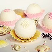 """Бомбочки для ванны ручной работы. Ярмарка Мастеров - ручная работа Бомбочка для ванны """"Pearl"""". Handmade."""