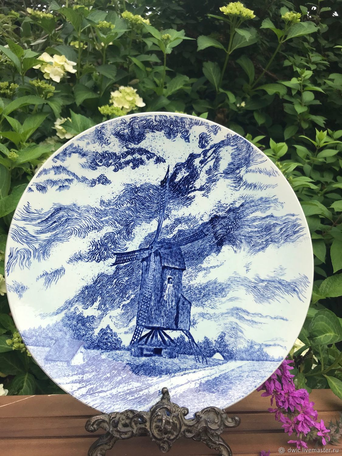 Plate Mill, hand made, Delft, the Netherlands, Vintage interior, Arnhem,  Фото №1