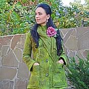 """Одежда ручной работы. Ярмарка Мастеров - ручная работа Пальто валяное  """"Twist"""". Handmade."""
