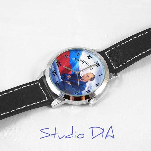 Часы Под Заказ - Путин (Патриот). Студия Дизайнерских Часов DIA.