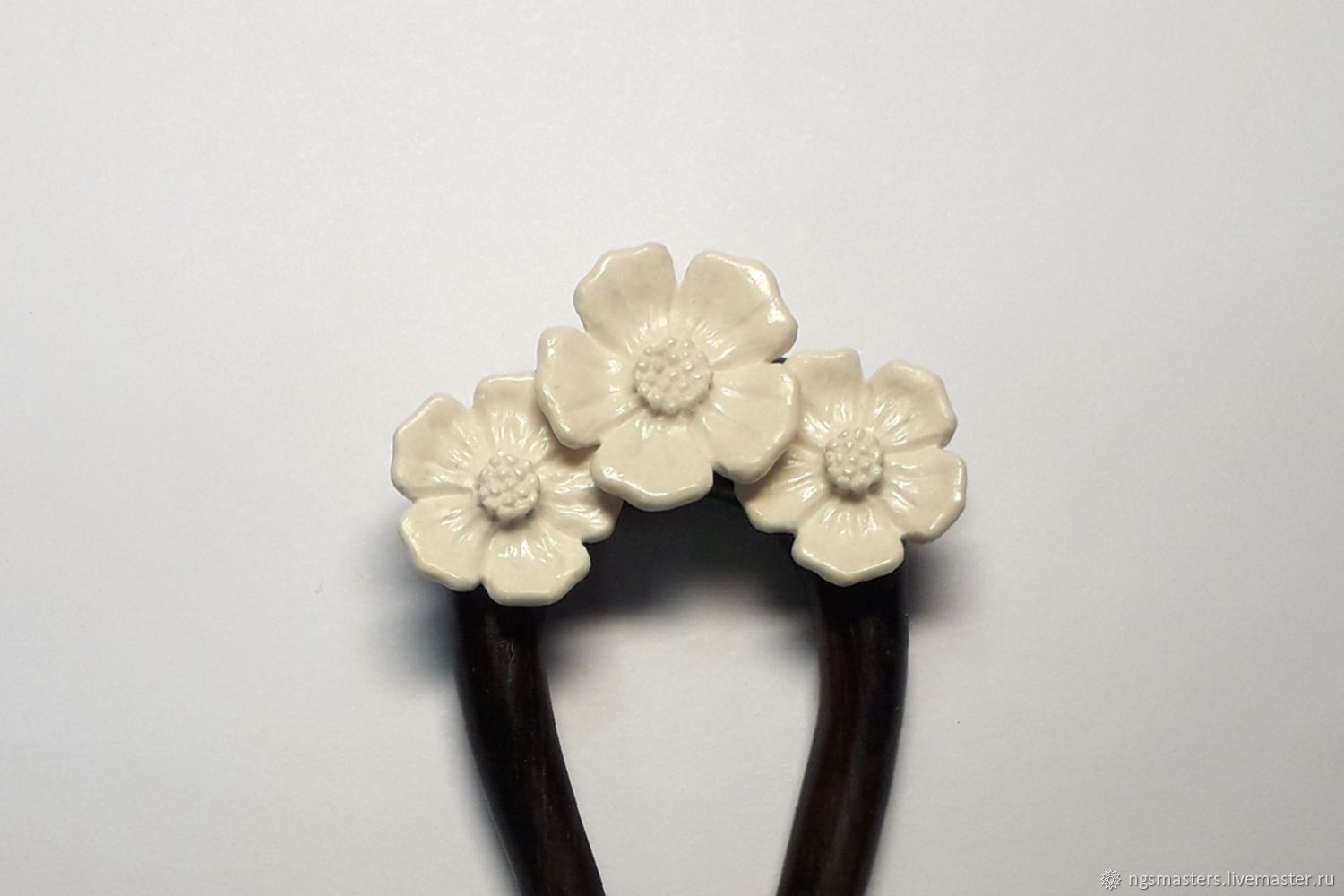 Flowers Hair Clip Shop Online On Livemaster With Shipping