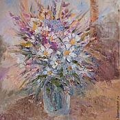 Картины и панно ручной работы. Ярмарка Мастеров - ручная работа Луговые цветы. Handmade.