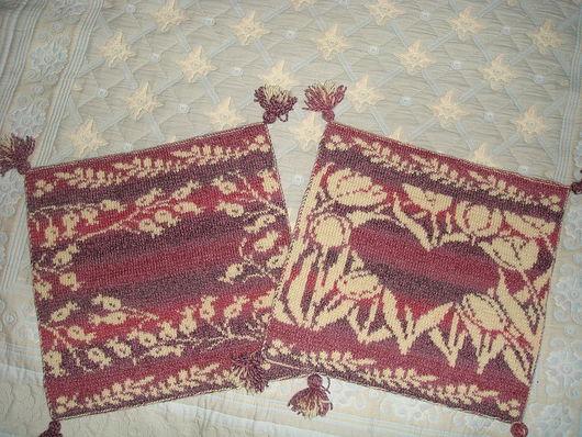 Текстиль, ковры ручной работы. Ярмарка Мастеров - ручная работа. Купить Сиденья на кресло Сердца Прованса. Handmade. Сиденье, дача