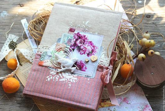 """Блокноты ручной работы. Ярмарка Мастеров - ручная работа. Купить Блокнот  """"Romantic"""". Handmade. Блокнот ручной работы, бумага"""