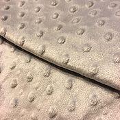 Материалы для творчества handmade. Livemaster - original item Plush minky grey Korea. Handmade.