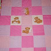 """Для дома и интерьера ручной работы. Ярмарка Мастеров - ручная работа Продано.Одеяло""""Розовые сны"""". Handmade."""