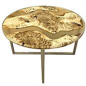 Для дома и интерьера handmade. Livemaster - original item Table of poplar in epoxy resin pouring.. Handmade.