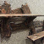 Для дома и интерьера ручной работы. Ярмарка Мастеров - ручная работа Полка в стиле кантри. Handmade.