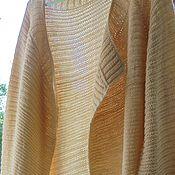 Одежда handmade. Livemaster - original item Long cardigan Golden Ochre. Handmade.