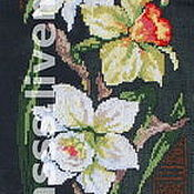 Картины и панно handmade. Livemaster - original item Embroidered panels