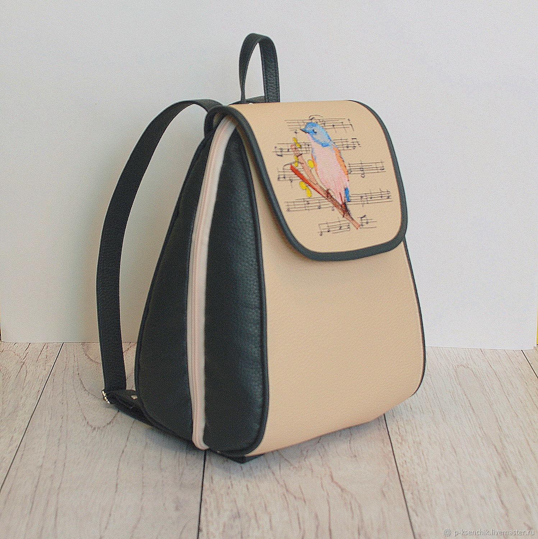 b53a7fd5707f Рюкзаки ручной работы. Ярмарка Мастеров - ручная работа. Купить Рюкзак  женский