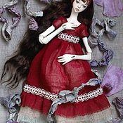 Шарнирная кукла ручной работы. Ярмарка Мастеров - ручная работа Ева. Шарнирная кукла. Handmade.