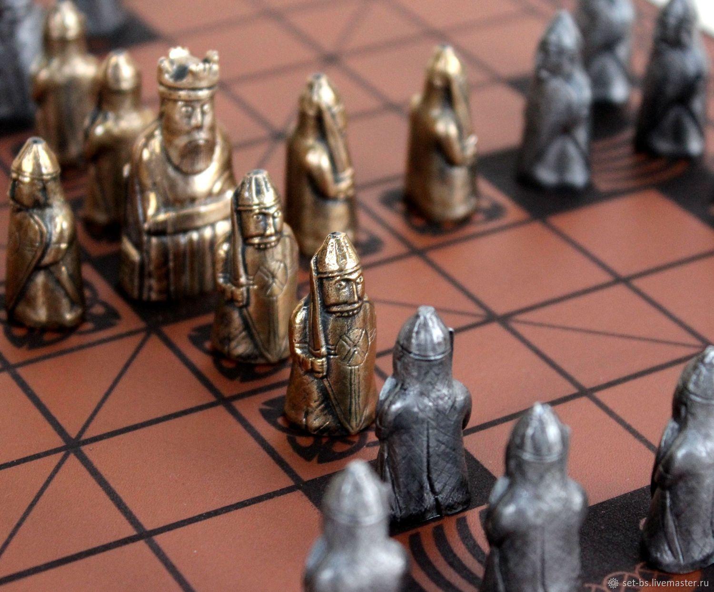 Бронзовые шахматы фото