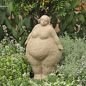 Для дома и интерьера handmade. Livemaster - original item Ideal forms No. №3 concrete figurine figure of a woman. Handmade.
