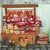 Румбоксы ручной работы. Ярмарка Мастеров - ручная работа Румбоксы: Мясная лавка 7. Handmade.