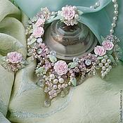 Украшения ручной работы. Ярмарка Мастеров - ручная работа Комплект свадебных украшений  Для невесты - 2. Handmade.