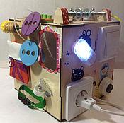 Куклы и игрушки handmade. Livemaster - original item Developing busybox for girls