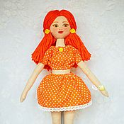 Куклы и игрушки handmade. Livemaster - original item Doll - Autumn red-haired girl. Handmade.