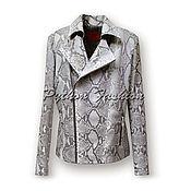 Одежда handmade. Livemaster - original item Jacket kosukha from the Python ZARRA. Handmade.