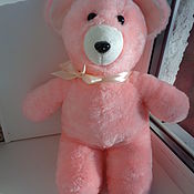 Мягкая игрушка медведь Мишка из искусственного меха