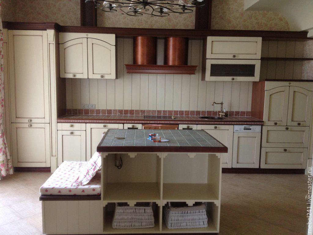 кухни из дерева ручной работы фото