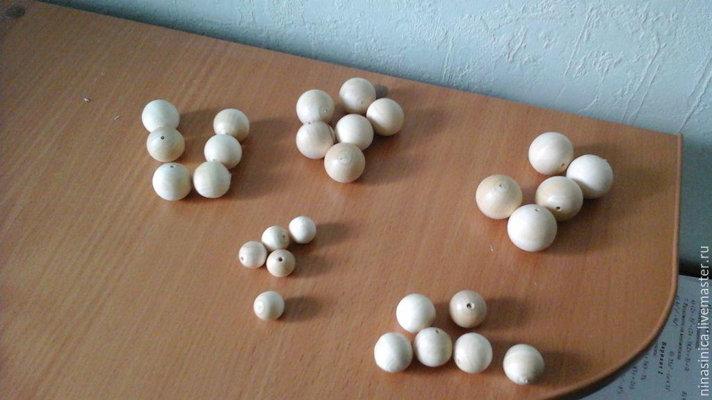 От 10  мм до 25 мм           В отверстие проходит цыганская игла. Имеются бусины с отверстием под леску.