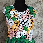 Одежда handmade. Livemaster - original item Tops: Summer courage. Handmade.